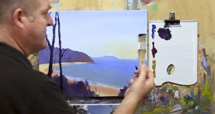 "Learn To Paint E21 ""Noosa National Park"" Preview. Acrylic Painting For Beginners"