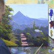"Learn To Paint TV E2 ""The Road To Mullumbimby"" Acrylic Painting For Beginners"